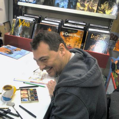 Joël Alessandra, illustrateur et scénariste